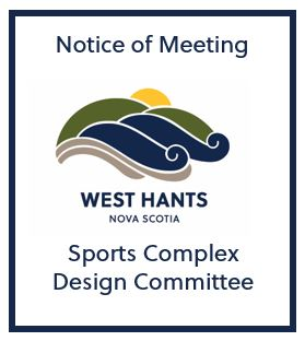 Sports Complex Design Committee meeting notice