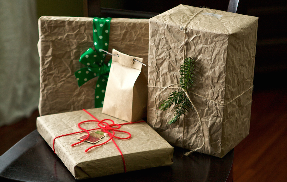 brown paper packages