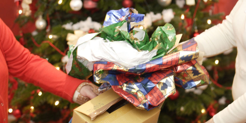 save old gift wrappigns